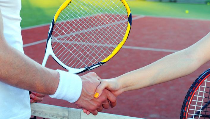 Social Doubles tennis in Calvert County
